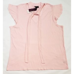 Lame Bryant Pale Pink Blouse